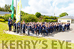 Attending the Caherleaheen Awards at the school on Monday as they raise 3 flags raised by Sean Kelly MEP and Sean Ryan (Aspen Grove).<br /> 1st flag Health Promotion, 2nd flag Junior Entrepreneur and 3rd Green European flag.