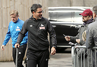 Huddersfield Town manager David Wagner arrives at Turf Moor ahead of kick-off<br /> <br /> Photographer Rich Linley/CameraSport<br /> <br /> The Premier League - Burnley v Huddersfield Town - Saturday 6th October 2018 - Turf Moor - Burnley<br /> <br /> World Copyright &copy; 2018 CameraSport. All rights reserved. 43 Linden Ave. Countesthorpe. Leicester. England. LE8 5PG - Tel: +44 (0) 116 277 4147 - admin@camerasport.com - www.camerasport.com
