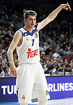 Real Madrid's Luka Doncic during Euroleague, Regular Season, Round 29 match. March 31, 2017. (ALTERPHOTOS/Acero)