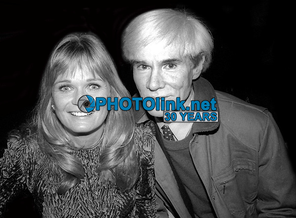 Valerie Perrine Andy Warhol 1978<br /> Photo By Adam Scull/PHOTOlink.net