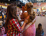 Antioch High School held its Homecoming Rally in the school auditorium on Friday, October 17, 2014 in Antioch, California.  The theme for this years' rally was the wild west.  Photo/Victoria Sheridan