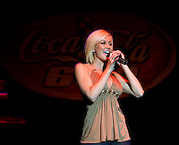 Singer/Songwriter Kellie Pickler performs during Food Lion Speed Street in uptown Charlotte, NC.