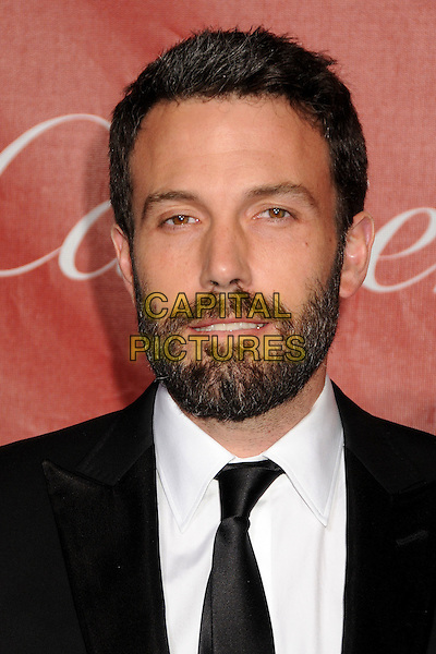 BEN AFFLECK .2011 Palm Springs International Film Festival Awards Gala held at the Palm Springs Convention Centre, Hollywood, California, USA, .8th January 2011..portrait headshot black tie white shirt beard facial hair mouth open .CAP/ADM/BP.©Byron Purvis/AdMedia/Capital Pictures.