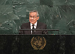 72 General Debate – 22 September <br /> <br /> <br /> <br />  Foreign Minister Don Pramudwinai of tiling