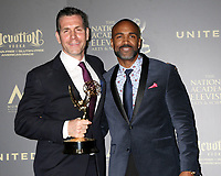 LOS ANGELES - APR 30:  Frank Valentini, Donnell Turner, Outstanding Drama Series, General Hospital in the 44th Daytime Emmy Awards Press Room at the Pasadena Civic Auditorium on April 30, 2017 in Pasadena, CA