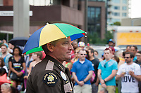 King County Sheriff, Jim Pugel, Seattle PrideFest 2015, Washington State, WA, America, USA.