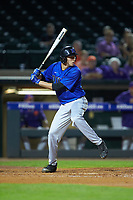 Zack Kone (2) of the Duke Blue Devils at bat against the Clemson Tigers in Game Three of the 2017 ACC Baseball Championship at Louisville Slugger Field on May 23, 2017 in Louisville, Kentucky. The Blue Devils defeated the Tigers 6-3. (Brian Westerholt/Four Seam Images)