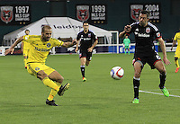 Washington,D.C. - Saturday, May 02 2015: DC United defeated the Columbus Crew 2-0 in a MLS match at RFK Stadium..