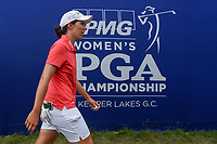 Carlota Ciganda (ESP) departs the green at 18 following round 4 of the 2018 KPMG Women's PGA Championship, Kemper Lakes Golf Club, at Kildeer, Illinois, USA. 7/1/2018.<br /> Picture: Golffile | Ken Murray<br /> <br /> All photo usage must carry mandatory copyright credit (&copy; Golffile | Ken Murray)
