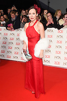 Amanda Mealing at the National TV Awards 2017 held at the O2 Arena, Greenwich, London. <br /> 25th January  2017<br /> Picture: Steve Vas/Featureflash/SilverHub 0208 004 5359 sales@silverhubmedia.com