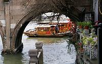 Zhujiajiao Ancient Water Town near Shanghai, China