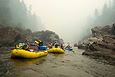 USA, Oregon, Wild and Scenic Rogue River in the Medford District, rafting the Terraces