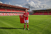 June 13th 2017, Oakwell, Barnsley, Yorkshire England; Jason McCarthy has completed his transfer from Southampton FC to Barnsley FC.