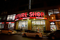 Montreal (QC) CANADA,  December 2007 File Photo of Future shop electronic store on ste-Catherine street west in downtown Montreal.<br /> <br /> Future shop announced today saturday march 28, 2015 that it closed all its Canadian stores<br /> <br /> <br /> <br /> <br /> photo : (c) &uml;Pierre Roussel -  images Distribution