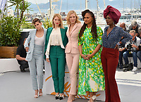 Kristen Stewart, Lea Seydoux, Cate Blanchett, Ava Duvernay &amp; Khadja Nin at the photocall for the Cannes Jury at the 71st Festival de Cannes, Cannes, France 08 May 2018<br /> Picture: Paul Smith/Featureflash/SilverHub 0208 004 5359 sales@silverhubmedia.com