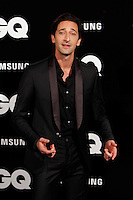 Adrien Brody attends GQ Men of the Year 2012 Awards at Palace Hotel on November in Madrid, Spain. November 19, 2012. (ALTERPHOTOS/Caro Marin) /NortePhoto