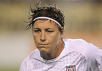 BOCA RATON, FL - DECEMBER 15, 2012: Abby Wambach (14) of the USA WNT during an international friendly match against China at FAU Stadium, in Boca Raton, Florida, on Saturday, December 15, 2012. USA won 4-1.