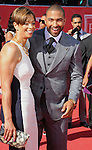 LOS ANGELES, CA - JULY 11: Matt Kemp and Judy Henderson arrives at the 2012 ESPY Awards at Nokia Theatre L.A. Live on July 11, 2012 in Los Angeles, California.