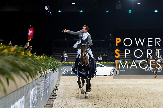 the Longines Speed Challenge during the Longines Masters of Hong Kong at AsiaWorld-Expo on 10 February 2018, in Hong Kong, Hong Kong. Photo by Diego Gonzalez / Power Sport Images