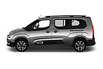 Car driver side profile view of a 2019 Citroen Berlingo Shine 5 Door MPV