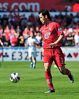 sport...swansea v southampton...liberty stadium...saturday 20th april 2013....<br /> <br /> <br /> Southampton's Maya Yoshida.