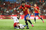 Georgia's Qazaishvili Spain's Nolito during the up match between Spain and Georgia before the Uefa Euro 2016.  Jun 07,2016. (ALTERPHOTOS/Rodrigo Jimenez)