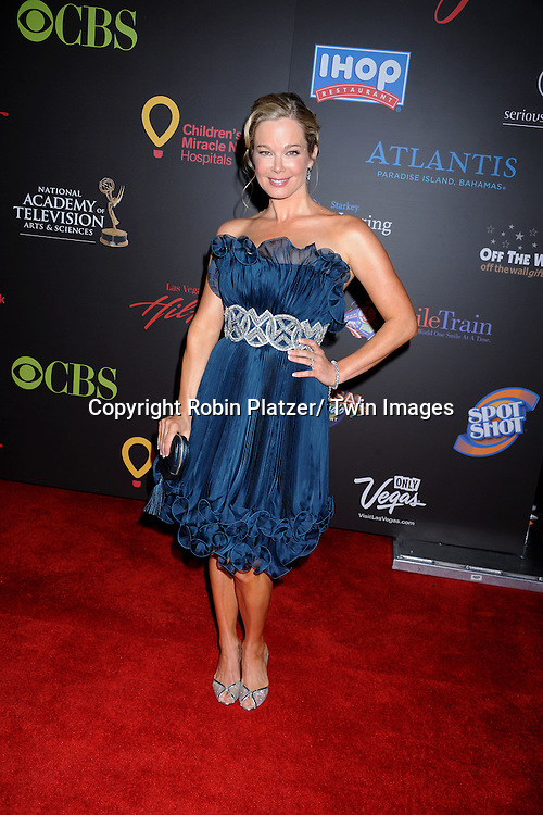 Jennifer Gareis arriving at the 38th Annual Daytime Emmy Awards  on June 19, 2011 at The Las Vegas Hilton in Las Vegas Nevada. .photo by Robin Platzer/ Twin Images  ..212-935-0770