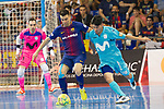 League LNFS 2017/2018.<br /> PlayOff Final-Game 4.<br /> FC Barcelona Lassa vs Movistar Inter FS: 3-3.<br /> FCB por penaltys.<br /> Sergio Lozano vs Daniel.