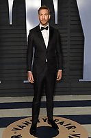 04 March 2018 - Los Angeles, California - Calvin Harris. 2018 Vanity Fair Oscar Party hosted following the 90th Academy Awards held at the Wallis Annenberg Center for the Performing Arts. <br /> CAP/ADM/BT<br /> &copy;BT/ADM/Capital Pictures