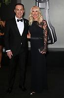 29 November 2018 - Las Vegas, NV - Kevin Harvick, DeLana Harvick. 2018 Monster Energy NASCAR Awards Red Carpet at Wynn Las Vegas.     <br /> CAP/ADM/MJT<br /> &copy; MJT/ADM/Capital Pictures