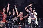 Motley Crue Jan 1984 at New Haven Coliseum Tommy Lee