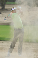 Ian Poulter (ENG) in action during the first round of the Omega Dubai Desert Classic, Emirates Golf Club, Dubai, UAE. 24/01/2019<br /> Picture: Golffile | Phil Inglis<br /> <br /> <br /> All photo usage must carry mandatory copyright credit (&copy; Golffile | Phil Inglis)