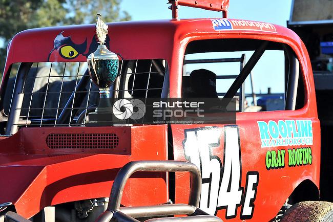 Stanaway Roading Stock Shock, Tahuna Beach Holiday Park Speedway, 9 March 2012, Nelson, New Zealand,<br /> Photo: Barry Whitnall/www.shuttersport.co.nz