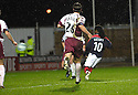 13/11/2006       Copyright Pic: James Stewart.File Name :sct_jspa11_falkirk_v_hearts.RUSSELL LATAPY SCORES FALKIRK'S GOAL.James Stewart Photo Agency 19 Carronlea Drive, Falkirk. FK2 8DN      Vat Reg No. 607 6932 25.Office     : +44 (0)1324 570906     .Mobile   : +44 (0)7721 416997.Fax         : +44 (0)1324 570906.E-mail  :  jim@jspa.co.uk.If you require further information then contact Jim Stewart on any of the numbers above.........