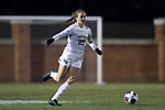 WINSTON-SALEM, NC - NOVEMBER 10: Wake Forest's Ally Haran. The Wake Forest University Demon Deacons hosted the Georgetown University Hoyas on November 10, 2017 at W. Dennie Spry Soccer Stadium in Winston-Salem, NC in an NCAA Division I Women's Soccer Tournament First Round game. Wake Forest advanced 2-1 on penalty kicks after the game ended in a 0-0 tie after overtime.