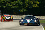 10 August 2007: The Doran Racing Maserati MC12 driven by Didier Theys and Fredy Lienhard at the Generac 500 at Road America, Elkhart Lake, WI
