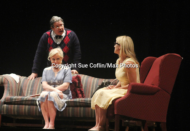 """Guiding Light's Cynthia Watros and Tina Sloan star with Michael O'Leary author of """"Breathing Under Dirt"""" - full play - had its world premier on August 13 and 14, 2016 at the Ella Fitzgerald Performing Arts Center, University of Maryland Eastern Shore, Princess Anne, Maryland  (Photo by Sue Coflin/Max Photos)"""