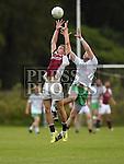 St. Vincents Shane O'Brien St. Patricks Shane McGinty. Photo:Colin Bell/pressphotos.ie