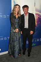 12 September 2018-  Los Angeles, California - Natascha McElhone, Sean Penn. the premiere of Hulu's original drama series, The First held at The California Science Center. <br /> CAP/ADM/FS<br /> &copy;FS/ADM/Capital Pictures