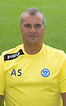 St Johnstone FC 2013-14<br /> Youth Development Manager Alistair Stevenson<br /> Picture by Graeme Hart.<br /> Copyright Perthshire Picture Agency<br /> Tel: 01738 623350  Mobile: 07990 594431