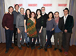 """The cast attends the """"Indecent"""" Media Day at Playwrights Horizons on March 13, 2017 in New York City."""