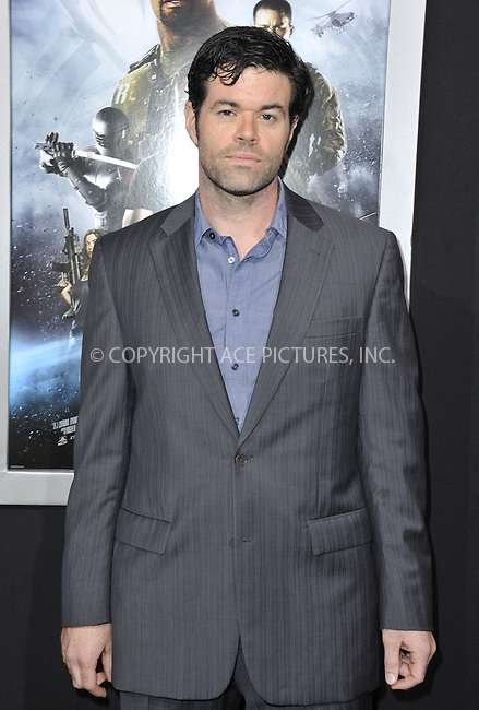 WWW.ACEPIXS.COM....March 28 2013, LA....Robert Baker arriving at the 'G.I. Joe: Retaliation' Los Angeles premiere at the TCL Chinese Theatre on March 28, 2013 in Hollywood, California.......By Line: Peter West/ACE Pictures......ACE Pictures, Inc...tel: 646 769 0430..Email: info@acepixs.com..www.acepixs.com