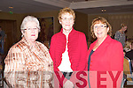 STYLE: Showing their style at the Fashion Show in aid of the Cancer Society and Recovery Haven at the Carlton hotel on Sunday l-r: Judy O'Connor and Betty Holden, Ballymac and Marion McMahon, The Spa.