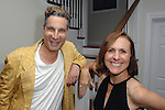 Cameron Silver, Molly Shannon==<br /> LAXART 5th Annual Garden Party Presented by Tory Burch==<br /> Private Residence, Beverly Hills, CA==<br /> August 3, 2014==<br /> &copy;LAXART==<br /> Photo: DAVID CROTTY/Laxart.com==