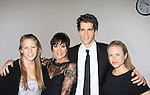 Colleen's daughter Georgia poses with mom Colleen, Josh & Emma  - Concerts for CAP21 presents As The World Turns' Colleen Zenk: Still Sassy featuring Emma Zaks and Josh Davis on June 19, 2012 at CAP Theatre, New York City, New York followed by a reception. (Photo by Sue Coflin/Max Photos)