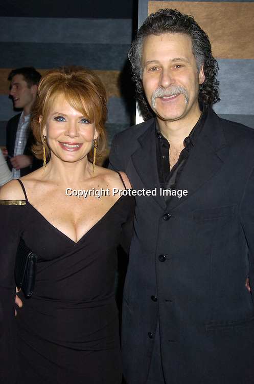 Julia Barr and husband Dr Richard Herschlag..at the Rainbow Room at the celebration for All My Childrens's 35th Anniversary after a show at Town Hall benefitting Broadway Cares Equity Fights Aids on February 7, 2005. ..Photo by Robin Platzer, Twin Images