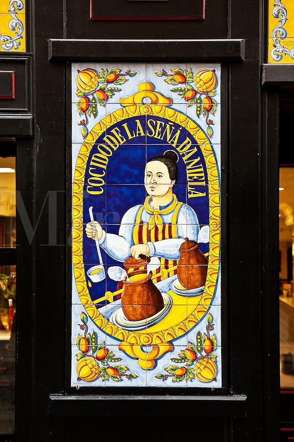 Cocido de la Sena Daniela, Madrid, Spain