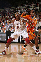 STANFORD, CA - DECEMBER 19:  Nnemkadi Ogwumike of the Stanford Cardinal during Stanford's 67-52 win over the Tennessee Lady Volunteers on December 19, 2009 at Maples Pavilion in Stanford, California.