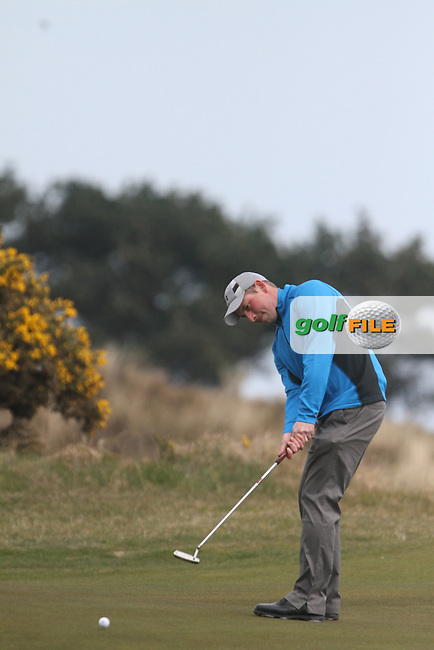 Derek Downie (Sutton) at the Hilary Golf Society at Portmarnock Golf Club...(Photo Jenny Matthews/www.golffile.ie)