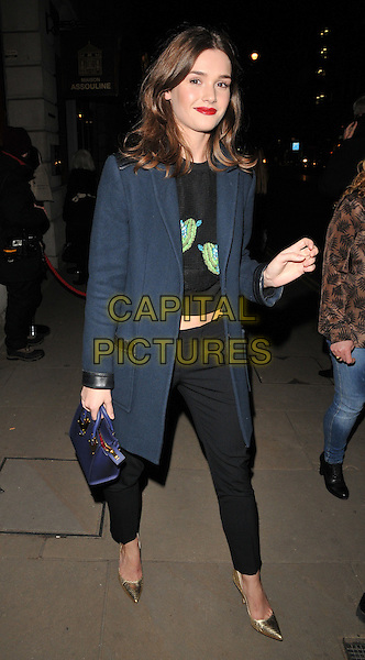 Sai Bennett attends the Messika by Vivienne Becker book launch party, Maison Assouline, Piccadilly, London, UK, on Wednesday 10 February 2016.<br /> CAP/CAN<br /> &copy;Can Nguyen/Capital Pictures